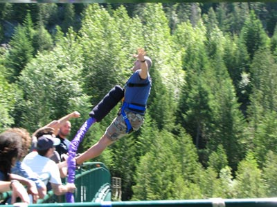 Bungee Jumping Questions including What is the