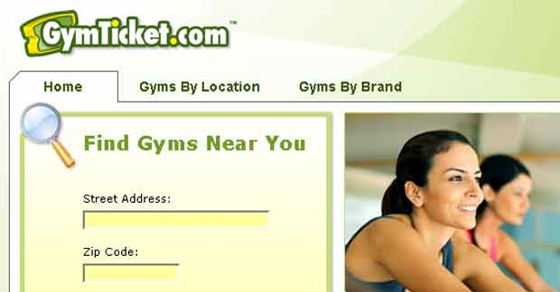 fitness center search